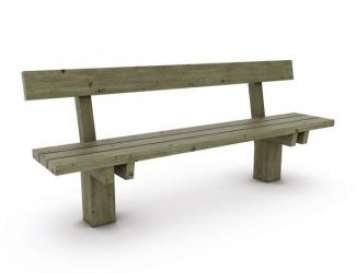 Banc OUESSANT Pin 2,00 m
