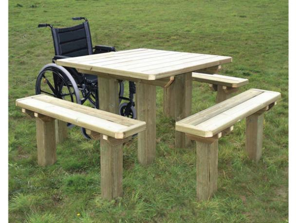 Table ACCES FACILE 4 bancs