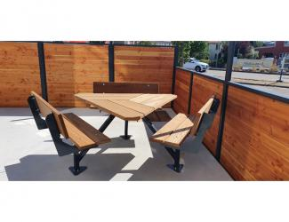 Table TRIANGLE Dossiers Iroko