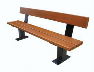 Banc SQUARE Pin naturel